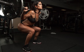 Wallpaper trainning, weight lifting, pose, Workout, technique, legs, fitness, workout