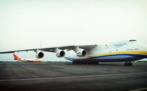 Picture The plane, Wings, Boeing, Engines, Dream, Ukraine, Mriya, The an-225, 747, Airlines, Soviet, Cargo, Antonov …