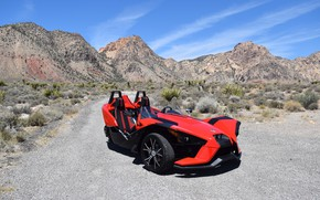 Picture beautiful, comfort, hi-tech, Polaris, Slingshot, technology, sporty, tricycle, 043