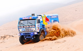 Wallpaper Rally, KAMAZ, Dakar, Sport, Blue, Master, Russia, Race, Duck, Master, Sand