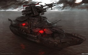 Picture weapons, ship, Empire Skirmish Boat, March of War, empire assault boat