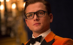Picture cinema, movie, film, tie, Kingsman, Taron Egerton, Kingsman: The Golden Circle