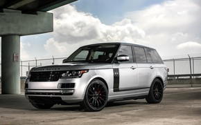 Picture Range Rover, with, color, Autobiography, exterior, trim, matched
