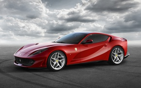 Wallpaper Ferrari, supercar, Superfast, background, Ferrari, 812