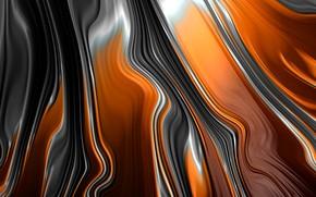 Picture line, strip, curves, Fractal