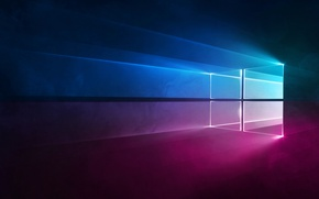 Wallpaper Windows 10, Microsoft, Microsoft