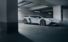 Picture Lamborghini, supercar, side view, 2018, Novitec Torado, Aventador S
