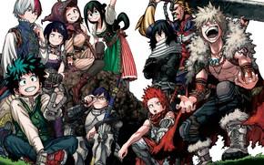 Picture anime, art, Boku no Hero Academy, My hero Academy