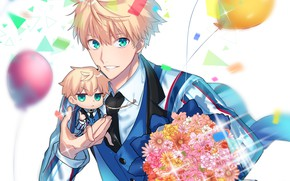 Picture bouquet, anime, art, character, Fate Grand Order