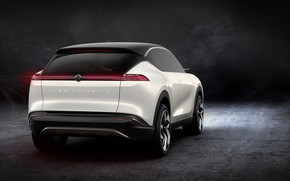 Picture rear view, Hybrid, 2018, crossover, Pininfarina, Kinetic, K350
