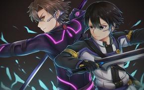 Wallpaper sword, game, weapon, anime, ken, blade, asian, manga, japanese, Sword Art Online, Kirito, Kirigaya Kazuto, ...