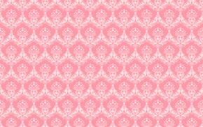 Picture ornament, pattern, background, texture, pink background
