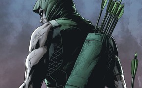 Picture comics, hero, arrow, green arrow, oliver queen