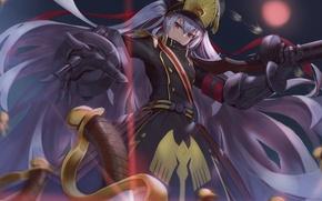 Picture anime, art, chiwa, re:creators, gunpuku no himegimi
