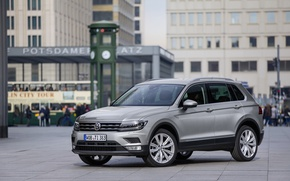 Picture Auto, Germany, Area, Volkswagen, Machine, Car, Car, Auto, Germany, New, Volkswagen, Tiguan, Tiguan, 2016, 4motion