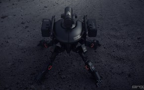 Picture machine, the ground, Mech concepts