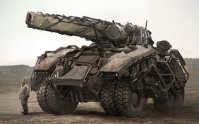 Picture weapons, transport, photbash tank demo
