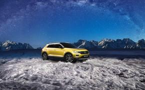 Picture Volkswagen, glacier, 2018, crossover, 4Motion, T-Roc