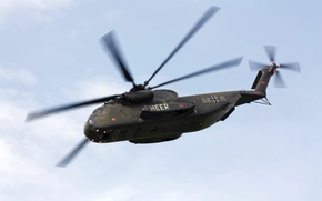 Picture German, Sikorsky, Sea Stallion, CH-53G