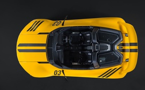 Picture supercar, yellow, Vuhl 05, sport cars, VŪHL, VŪHL 05