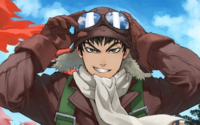 Picture anime, pilot, japanese, seifuku, guardian, drifter, mahou, Drifters, Nippon, Nihon