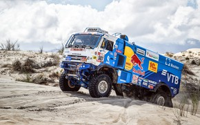 Picture Sand, Sport, Machine, Truck, Race, Master, Russia, Kamaz, Rally, Dakar, KAMAZ-master, Dakar, Rally, KAMAZ, 507, …
