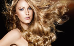 Picture actress, blonde, Blake Lively