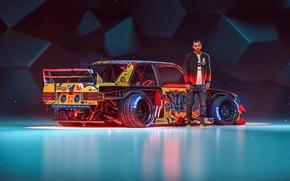 Wallpaper BMW, man, Tuning, Future, E30, by Khyzyl Saleem