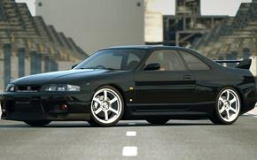 Picture Nissan, r33, Skyline GTR