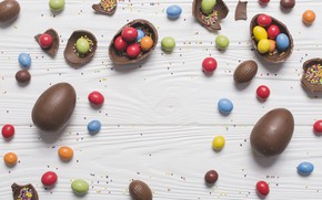 Picture Candy, Cuts, Chocolate eggs