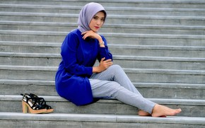Picture girl, stage, LOVELY HIJABERS