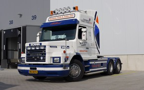 Picture Scania, V-8, T-142H