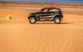 Wallpaper Rally, SUV, Dakar, Mini, Dakar, X-Raid, Rally, Sport, MINI Cooper, MINI John Cooper Works, Desert, ...