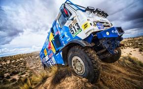 Picture Sand, Sport, Truck, Race, Master, Beauty, Russia, Beast, Kamaz, Rally, Dakar, Dakar, Rally, KAMAZ, The …