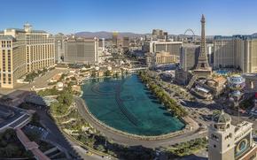 Picture building, Las Vegas, panorama, Nevada, Las Vegas, Nevada