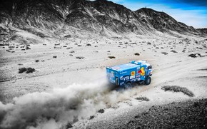 Wallpaper The sky, Sand, Nature, Dust, Sport, Speed, Race, Master, Hills, Beauty, Russia, Kamaz, Rally, Rally, ...