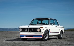 Picture Auto, Retro, BMW, Machine, Logo, Lights, Turbo, 2002, New Class, Old, BMW New class, BMW …