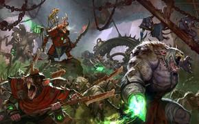 Picture battle Art, Total warhammer 2 was, Skaven