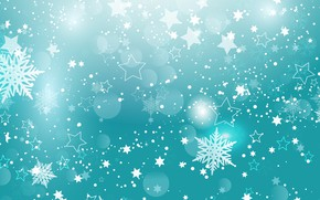 Picture stars, christmas, stars, texture, snowflakes, snowflakes