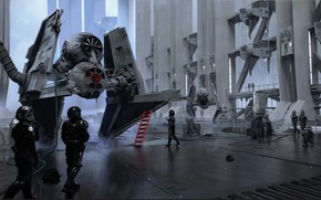 Picture Playground, aircraft, service, ILM Art Department Challenge, The Ride
