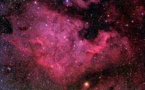 Wallpaper space, stars, beauty, North America Nebula