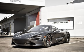Wallpaper McLaren, Black, Zenith, 720S
