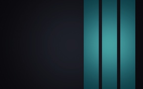 Picture abstraction, strip, creative, background, blue background, creative minimalism, Wallpaper 1920x1080