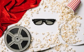 Picture movie, glasses, film