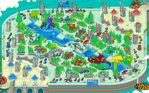 Picture The game, Retro, Map, Art, Pixels, League of Legends, Characters, PXL
