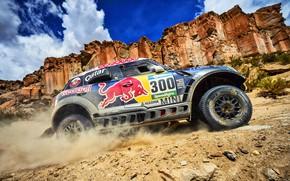 Picture Sand, Mini, Mountains, Rocks, Sport, Speed, Race, 300, Rally, SUV, Rally, X-Raid Team, MINI Cooper, …