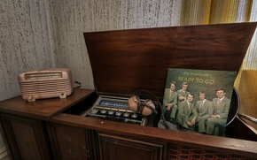 Picture music, radio, vinyl, record