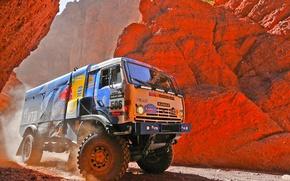 Picture Auto, Rocks, Sport, Master, Kamaz, Rally, Dakar, Dakar, KAMAZ, 506