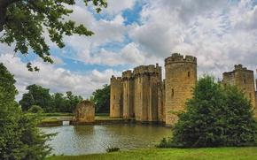 Picture England, England, Bodiam Castle, Bodiam Castle