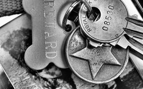 Picture macro, background, keys